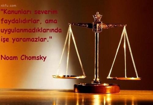 Hukuk İle İlgili Sözler