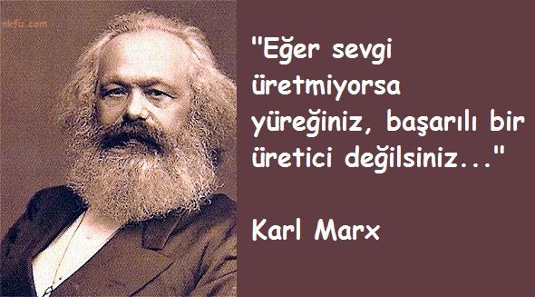 Karl Marxın Sosyolojiye Katkıları