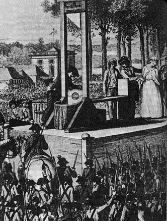 Marie Antoinette'nin idamı