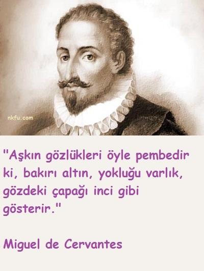 Miguel de Cervantes Sözleri