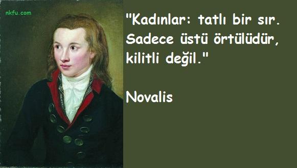 Novalis  Sözleri