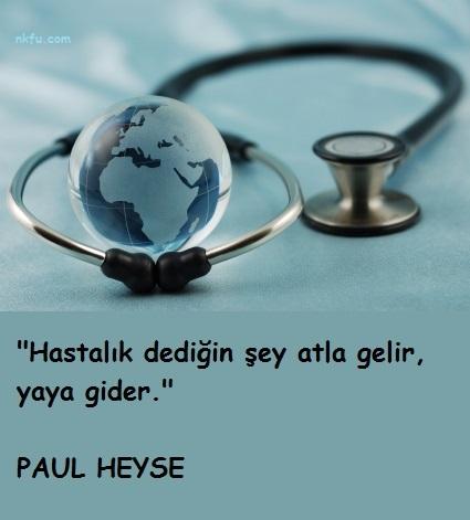 Sağlık İle İlgili Sözler