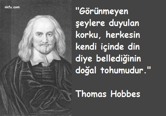 Thomas Hobbes Sözleri