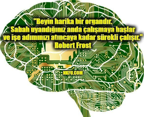 Beyin İle İlgili Resimli Sözler
