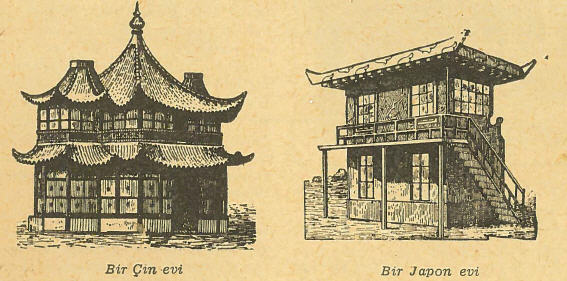 Çin ve Japon Evleri