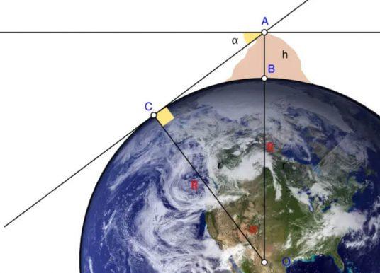 Biruni Dünyanın Yuvarlak Olduğunu Nasıl Kanıtlamıştır? Dünyanın Yarıçapını Hesabı
