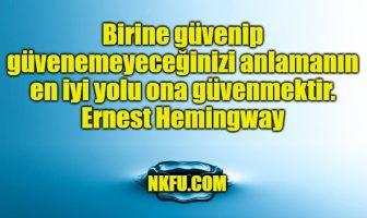 Ernest Hemingway Sözleri