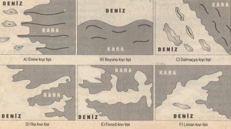 Kıyı Tipleri
