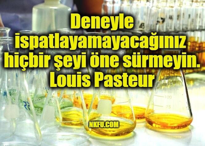 Louis Pasteur Sözleri