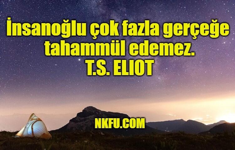 T. S. Eliot Sözleri