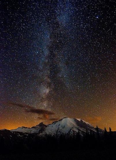 Yıldızlı Gökyüzü Fotoğrafları