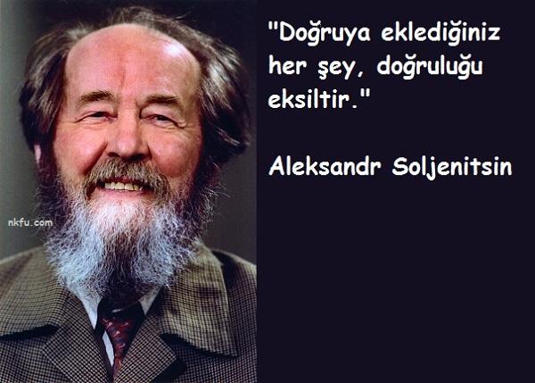 Aleksandr Soljenitsin Sözleri
