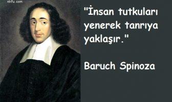 Baruch Spinoza Sözleri