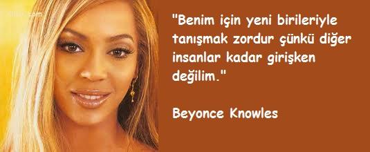 Beyonce Knowles Sözleri
