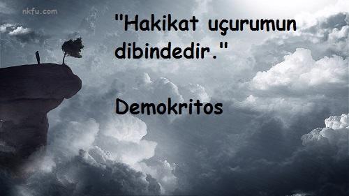 Demokritos Sözleri