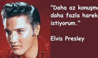 Elvis Presley Sözleri