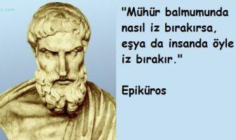 Epiküros Sözleri