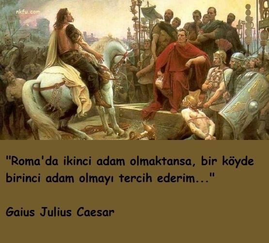 Gaius Julius Caesar Sözleri