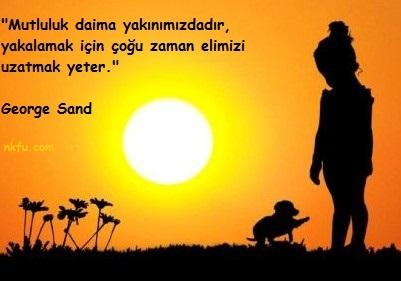 George Sand Resimli Sözleri
