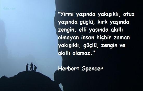 Herbert Spencer Sözleri
