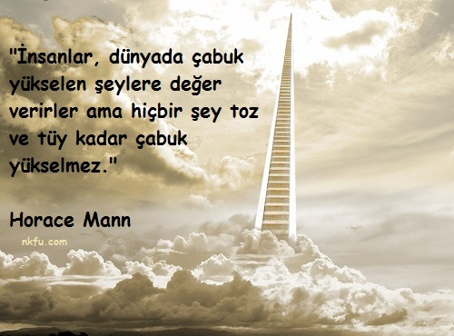 Horace Mann Sözleri