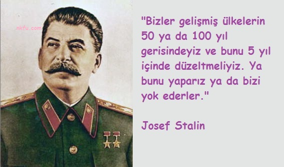 Josef Stalin Sözleri