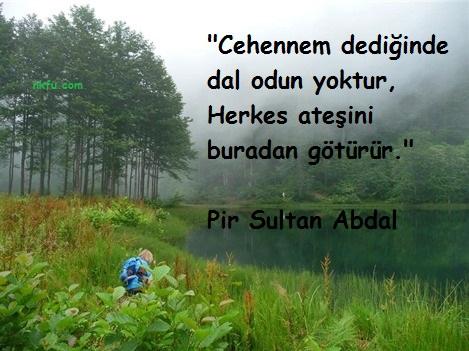 Pir Sultan Abdal Sözleri