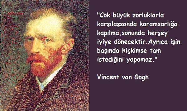 Vincent van Gogh Sözleri