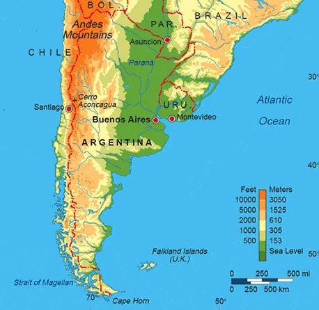 Arjantin Haritası