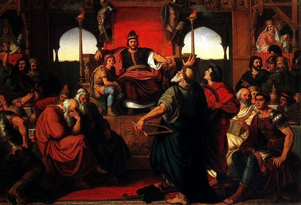 """Mór Than'ın  """"Attila'nın Bayramı"""" isimli eseri."""