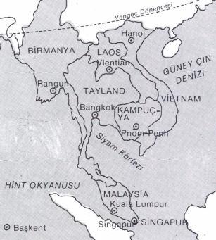 Çinhindi Haritası