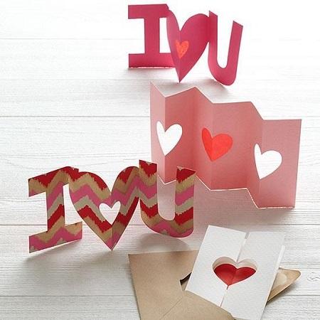 El Yapımı Sevgililer Günü Kartları