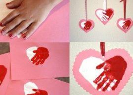 Sevgilinize Kart Yapın El Yapımı Sevgililer Günü Kartları Örnekleri