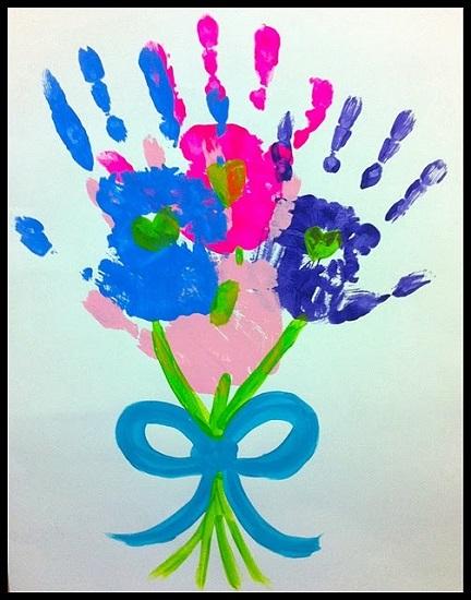 Подарок для мамы своими руками для самых маленьких 5