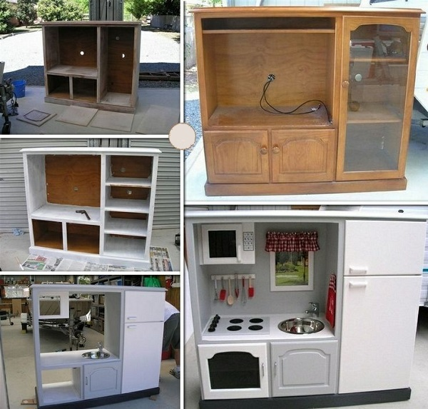 Reuse Old Kitchen Cabinets In Laundry Room