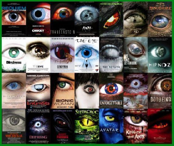 Gözüm senin üzerinde ve kork benim gözümden tarzı. genelde korku gerilim filmlerinde kullanılıyor.