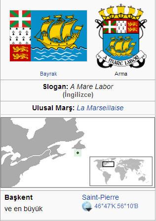 Saint Pierre ve Miquelon