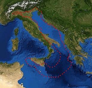 Adriyatik Deniz Coğrafi Haritası