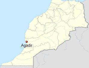 Agadir Harita
