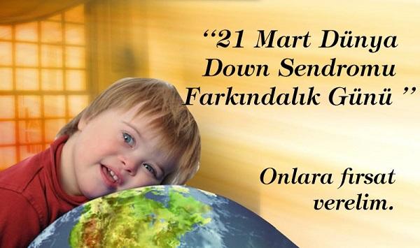 Down Sendromu İle İlgili Sloganlar - Afişler