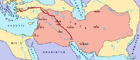 Kral yolu Haritası