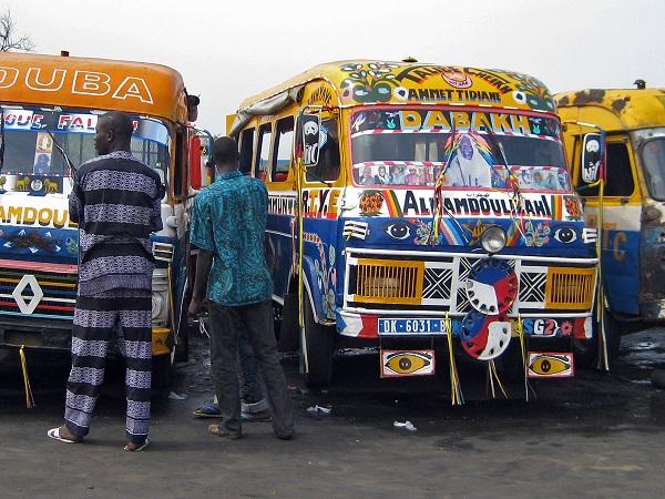 Afrika'nın müslüman ülkelerinden Senegal'den bir görüntü.