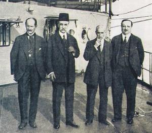 Sevr Barış Antlaşlmasını İmzalayan Osmanlı Heyeti