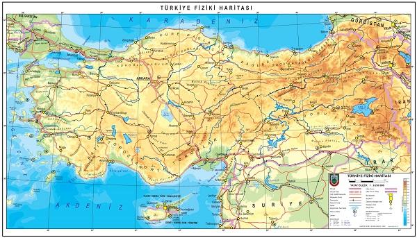 Türkiye Fizik Haritası