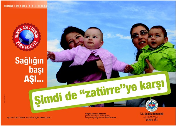 Aşı İle İlgili Afişler - Sloganlar