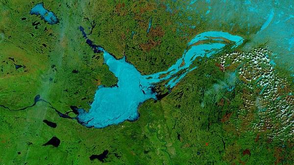 Büyük Esir Gölü Haritası