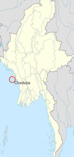 Çeduba Adası Haritası