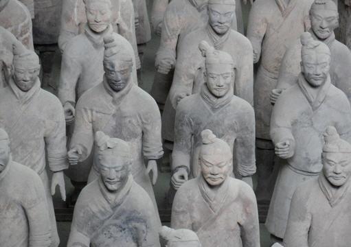 Çin Heykel Sanatı