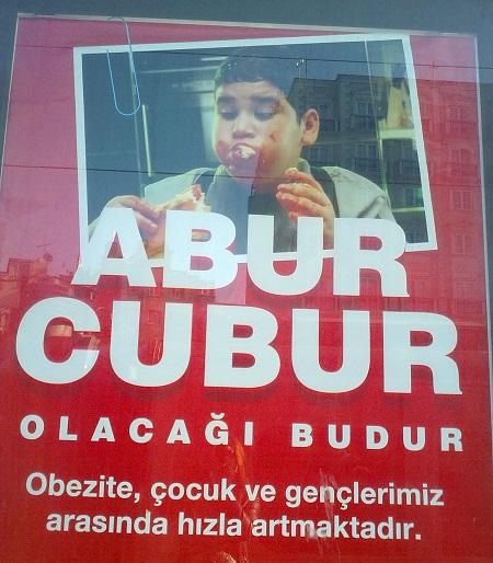 Obezite İle İlgili Afişler - Sloganlar