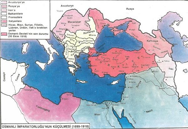 Osmanlı İmparatorluğu Dağılma Dönemi